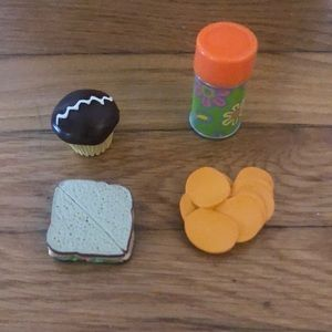 4 Pcs. (From Julie's Lunch Box Set)